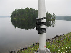 Pinhole Cameras installed at Indian Pond