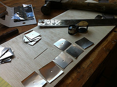 tools I used to build my pinhole cameras