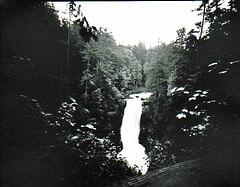 pinhole 4 x 5 Moxie Falls