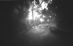 Howard Hill, Augusta, 2014. Altoid Tin pinhole camera