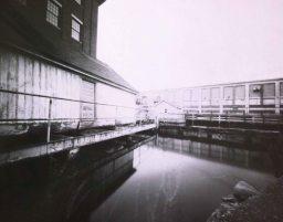 Canal Street, Lewiston, 2014. Harman Direct Positive 8 x 10, caffenol processed