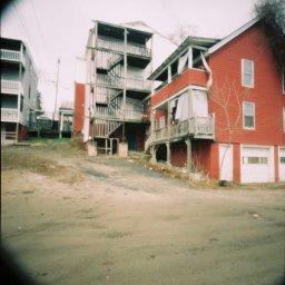 Auburn, Maine, 2014. Holga pinhole