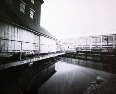 Direct Positive 8 x 10 pinhole camera image taken during the 2013 WPPD outing to Lewiston Maine