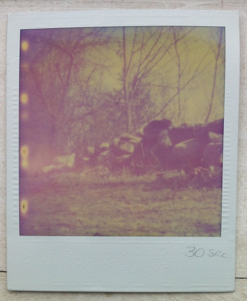 In 1988 I produced my first pinhole camera image. I had seen an art student's senior project which used SX-70 Polaroid film in a pinhole camera. So I decided to experiment with it. After wasting a bunch of film, I put pinhole cameras away for about 12 years.