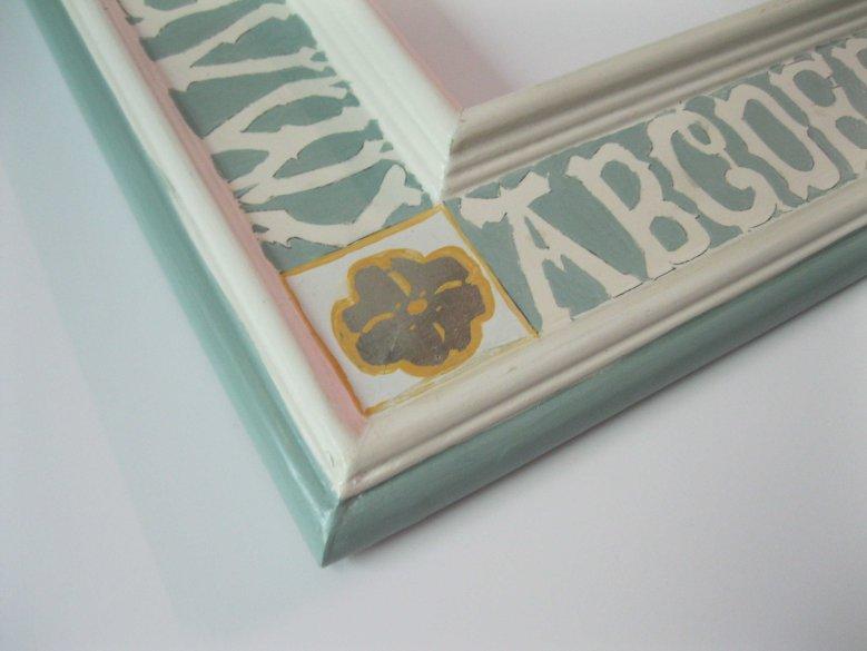 Jessie Volk alphabet frame