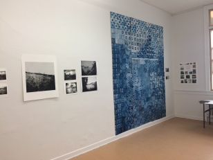 quilt, maine, cyanotype, studio, artist