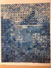 cyanotype, artist, maine, quilt